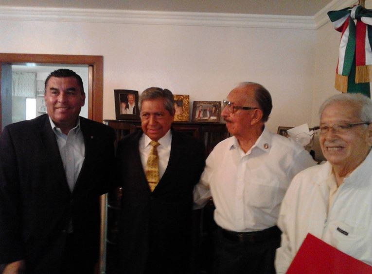 Francisco Rueda, invitado especial del Grupo Jesús Reyes Heroles