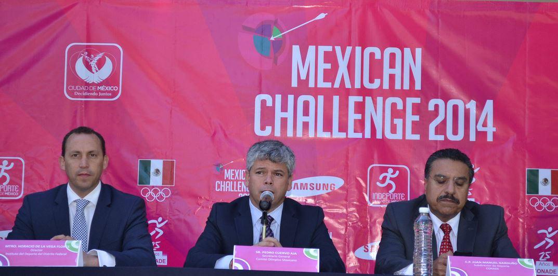 Inédito Mexican Challenge de Tiro con Arco en Paseo de la Reforma