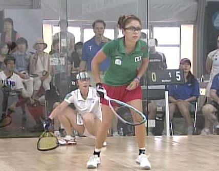 Jin Young vs Paola Longoria – Korea vs Mexico –  Open Gold 1 – Women