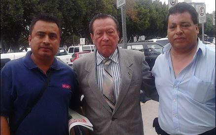 Realiza gira por BC Francisco Vega Magdaleno, dirigente nacional de periodistas