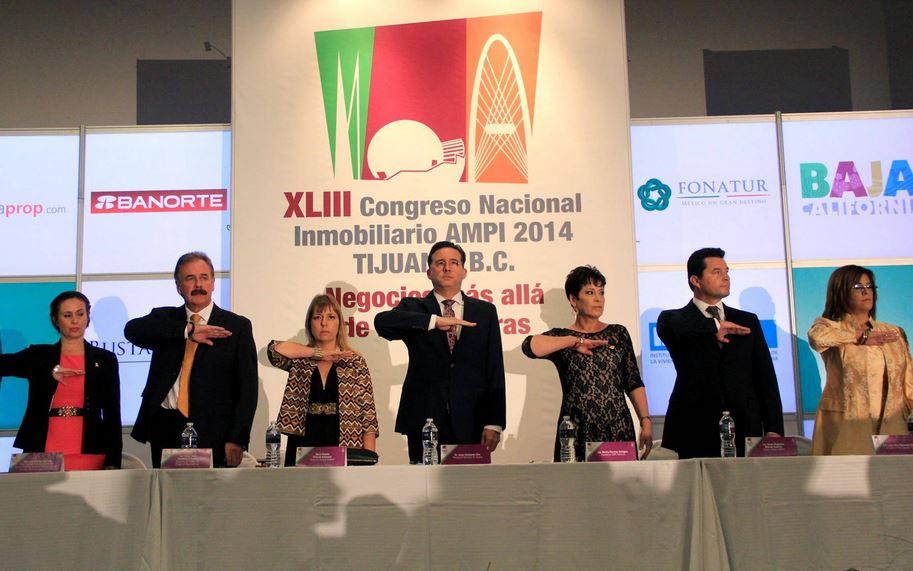 """Inició 43 Congreso Nacional Inmobiliario Tijuana AMPI 2014 """"Negocios más allá de las fronteras"""""""