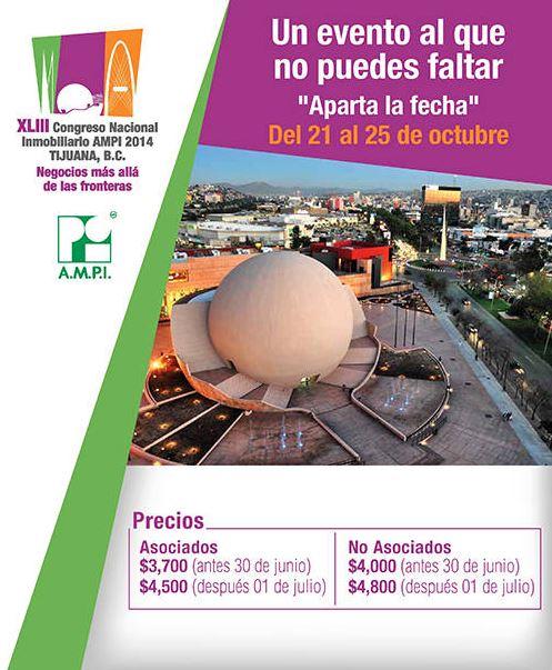 Esperan 800 congresistas en Congreso Nacional Inmobiliarito Tijuana 2014