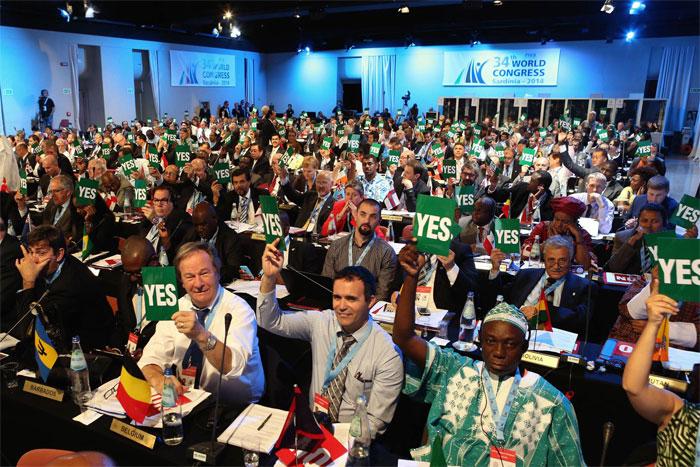 FIVB limita período presidencial a 12 Años, ya no seré de tiempo ilimitado