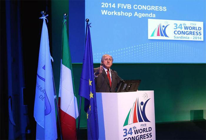 En 2 años FIVB ha aplicado 25 millones de dólares en programas de desarroll