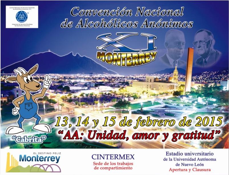 Congreso Regional de Alcohólicos Anónimos del 7 al 9 de noviembre en Los Mochis, Sinaloa