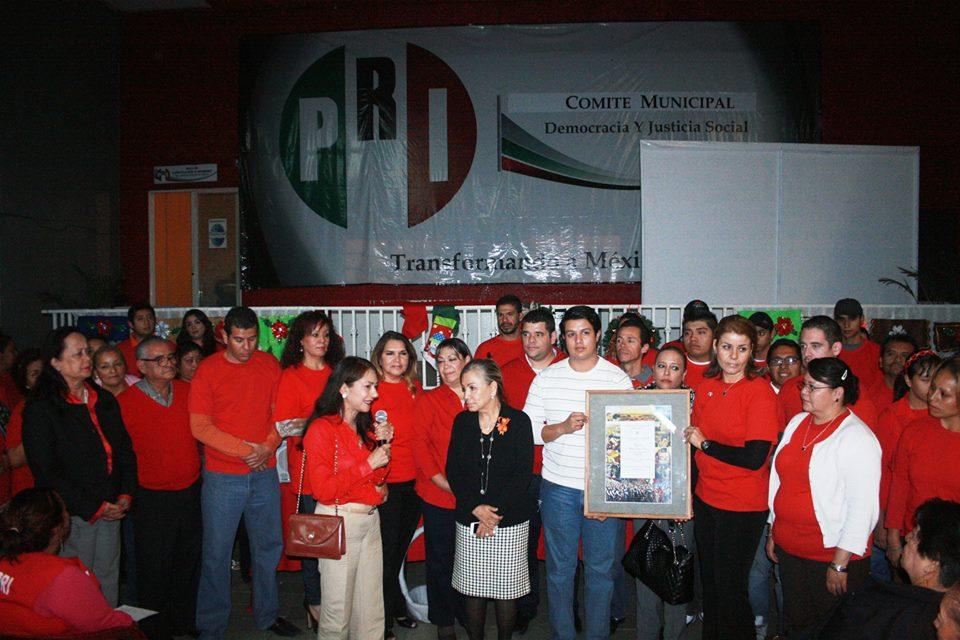 Reconoce  PRI  labor de   regidora y dirigente  de OMNIPRI  Martha Rubi