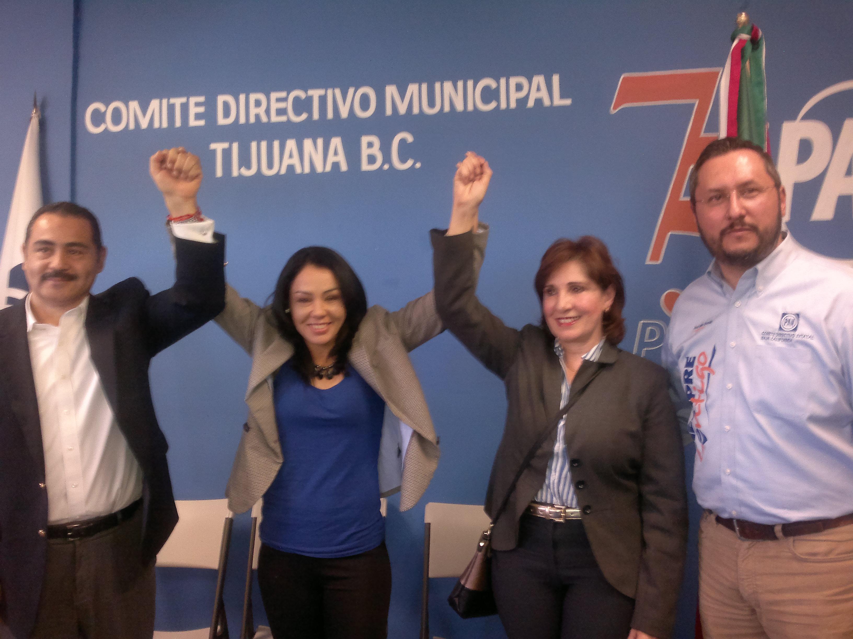 Campeona Jackie Nava,  precandidata a diputada por el PAN y asegura que seguirá peleando