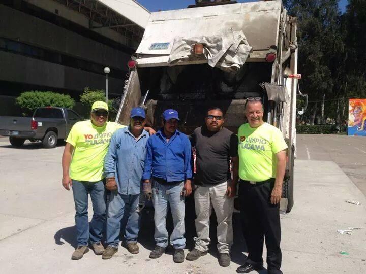 Recolectan mensualmente 37 mil toneladas de basura en Tijuana