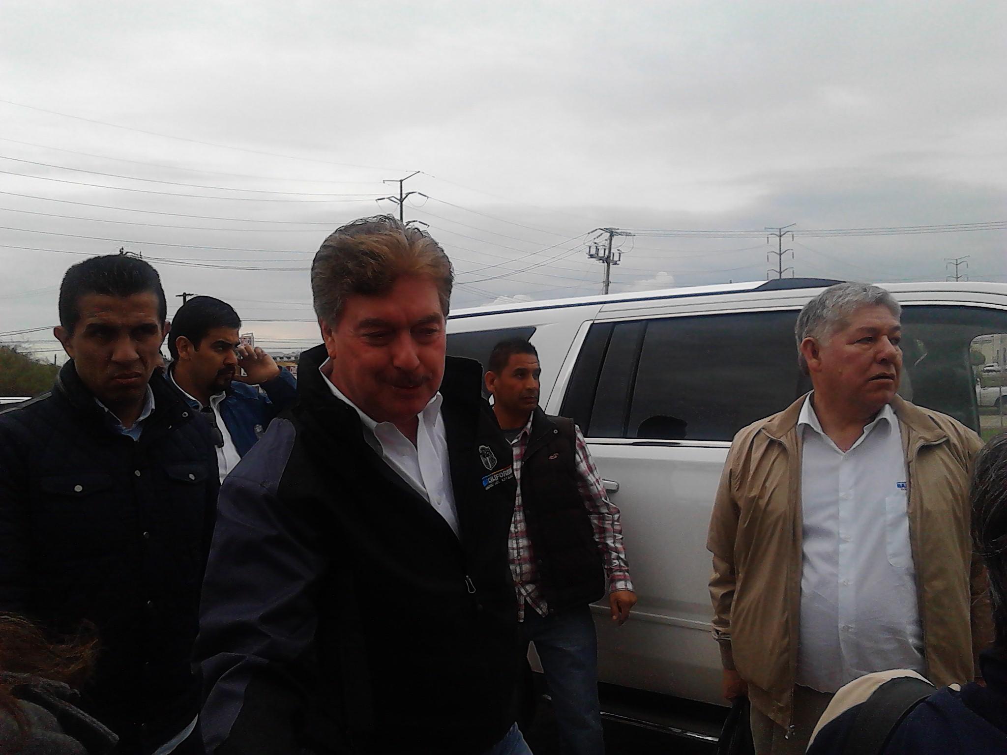 Manuel Guevara a favor de la demolición de La Concha