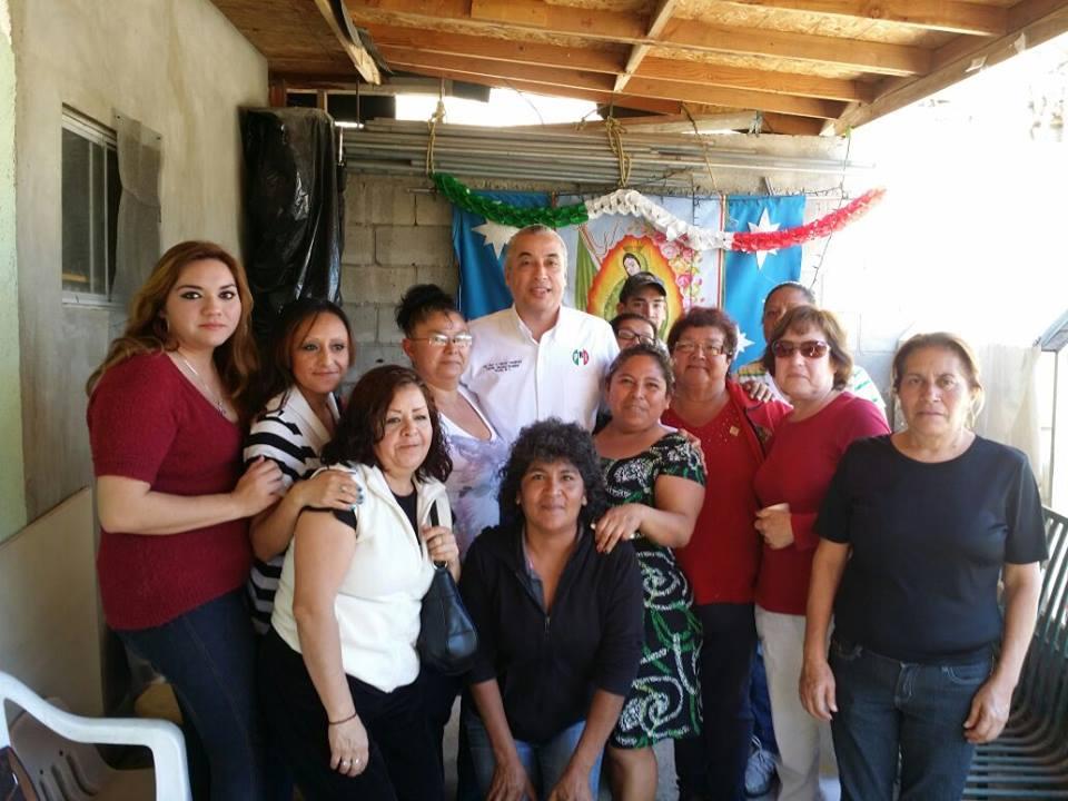 Piden colonos al PRI Tijuana apoyos para vivienda y gestiones para atención médica