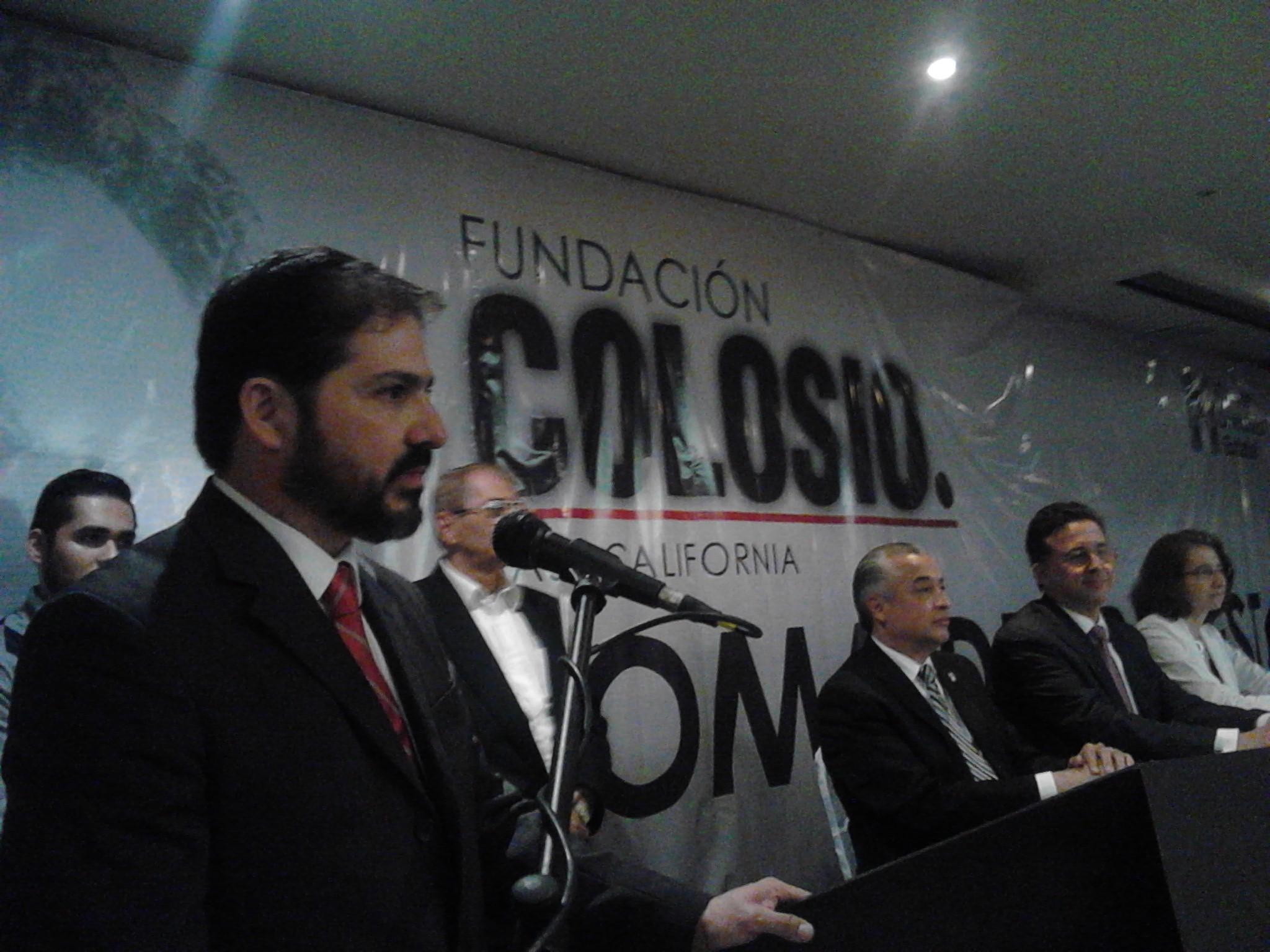 Andrés Garza, nuevo presidente de la Fundación Colosio en BC
