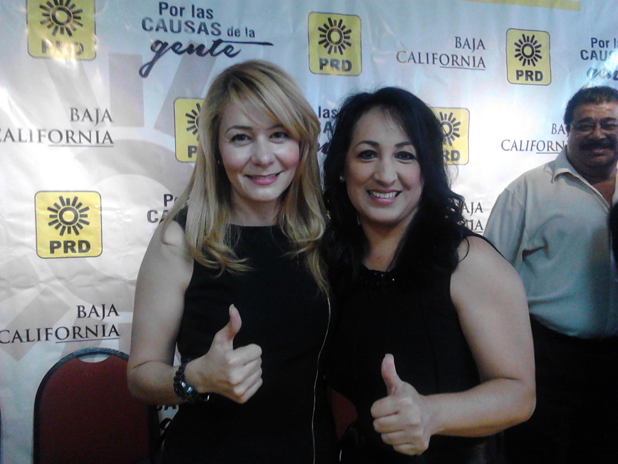 Empresarias Ivette Casillas y Laura Vitela, son candidatas ciudadanas del PRD