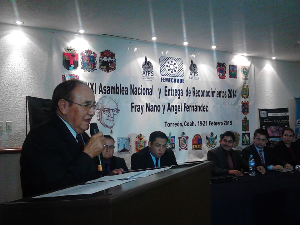 Realizan XXI Asamblea Anual de FEMECRODE en Torreón