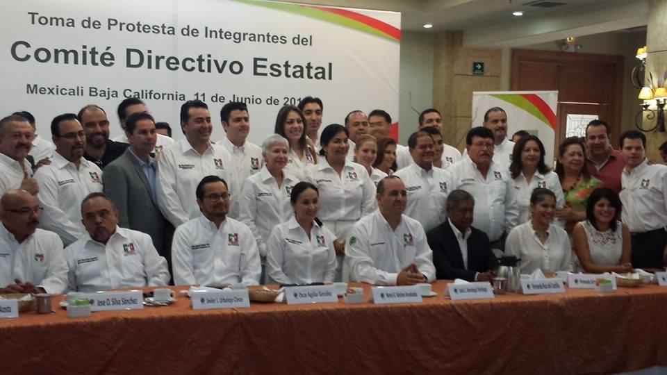 José Lauro Aristegui  declinó ir por una diputación y prefirió seguir en la secretaria del PRI de BC