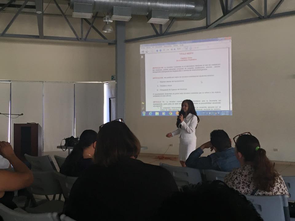 Soy de La Mesa, capacitan a líderes comunitarios sobre  la creación de iniciativas ciudadanas
