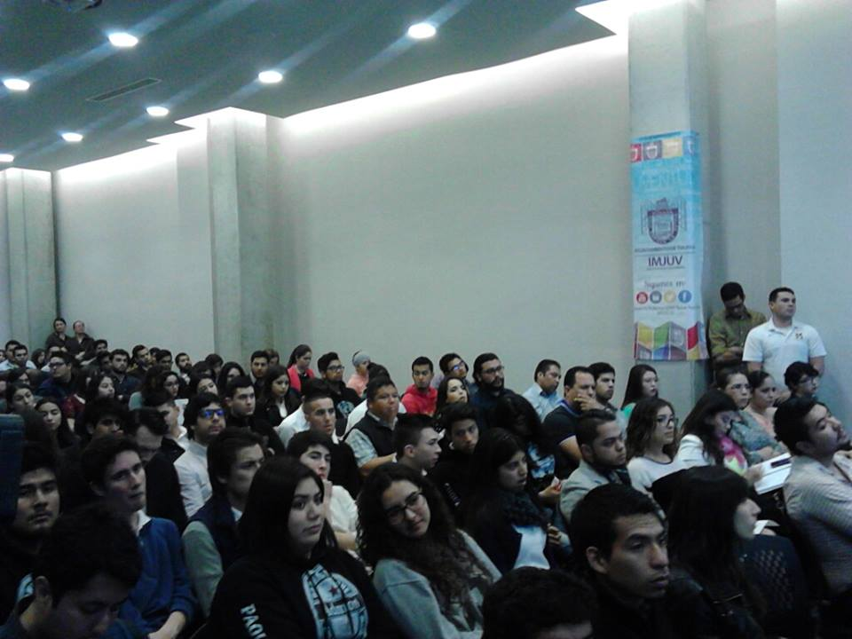 Presentan a más de 400 estudiantes  Programa Crédito Joven del INADEM