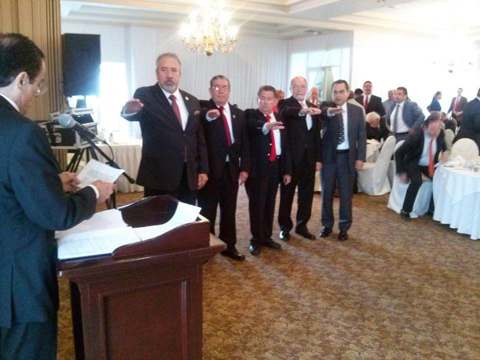 Hernaldo Ríos asume dirigencia de Grupo 21