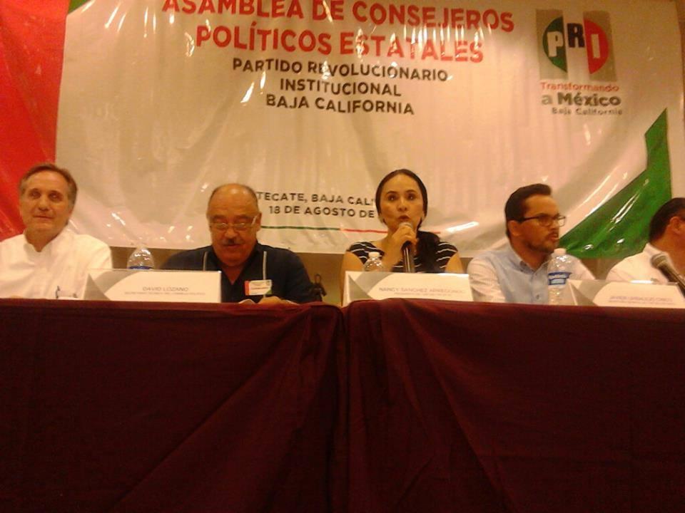 Nancy Sánchez pide respetar procedimientos en PRI