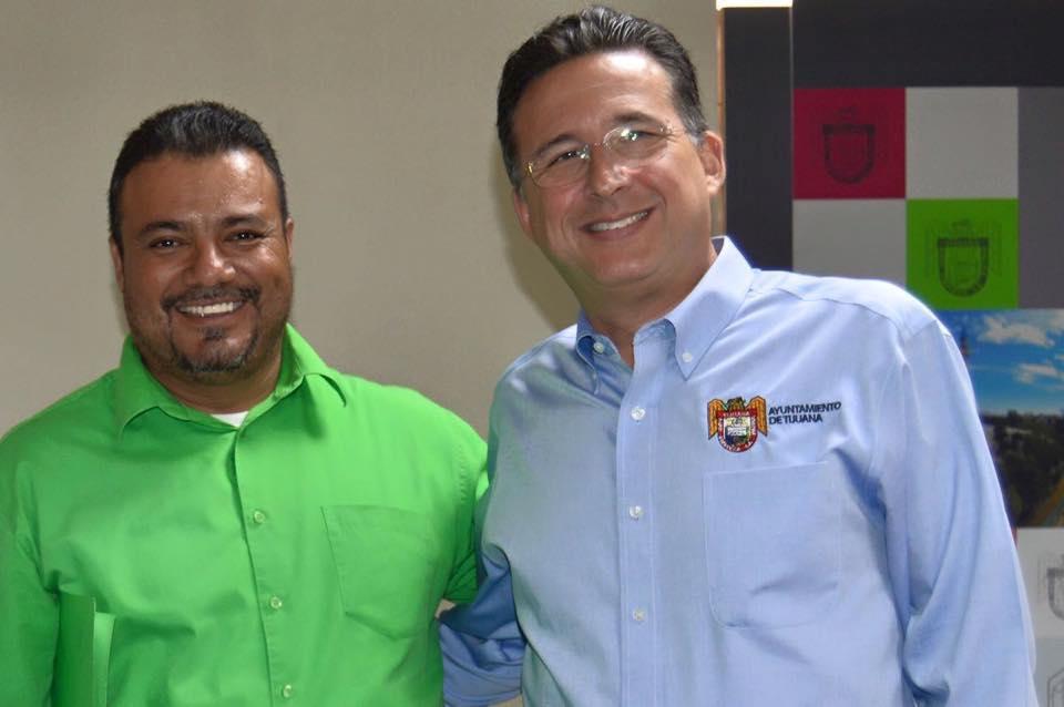 Coalición de Colonias  visitaron al presidente Jorge Astiazaran Orci