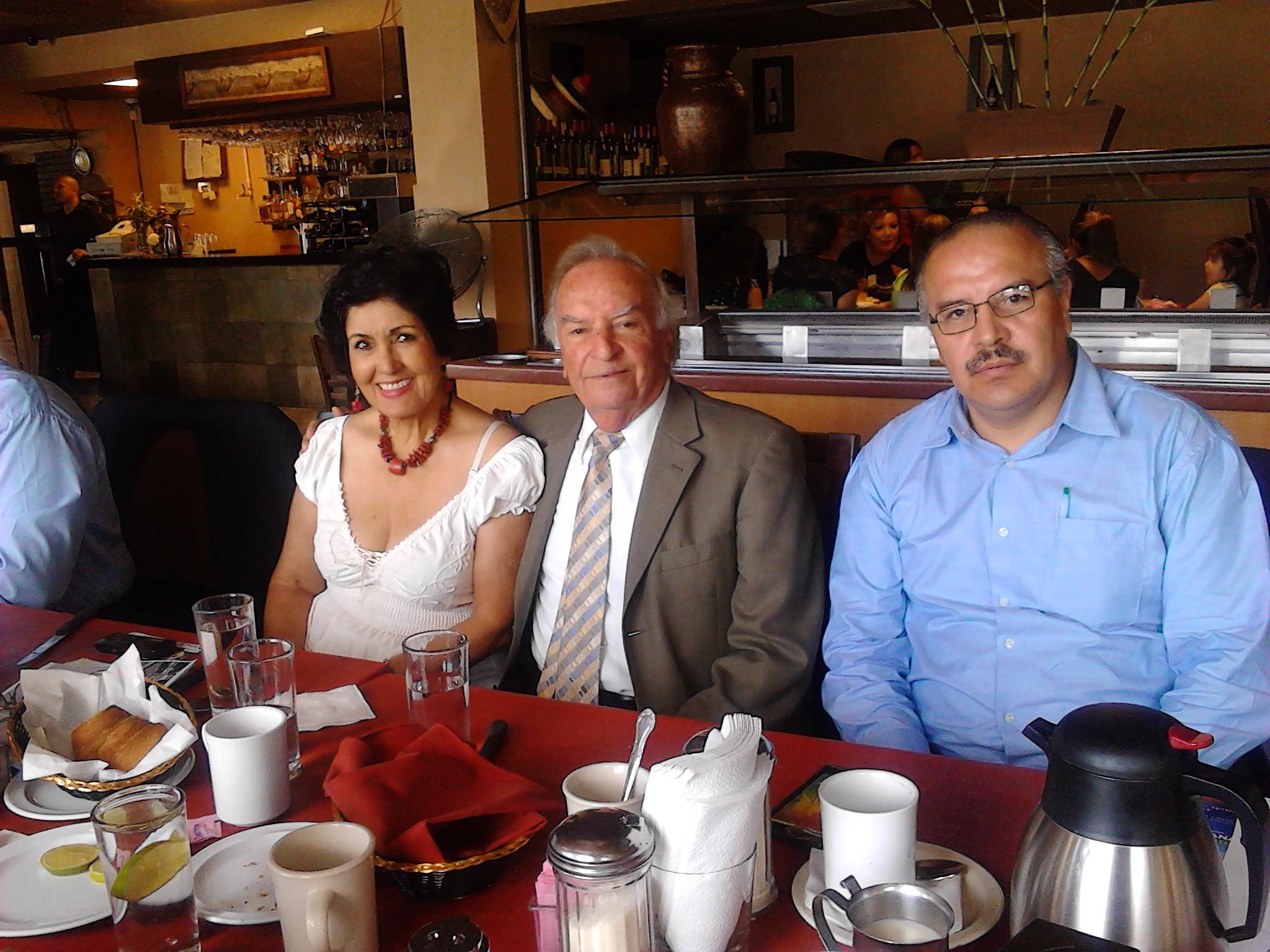 Forjadores de BC,  Ernesto Jiménez, Daniel Hierro de la Vega y  Juanita Jiménez
