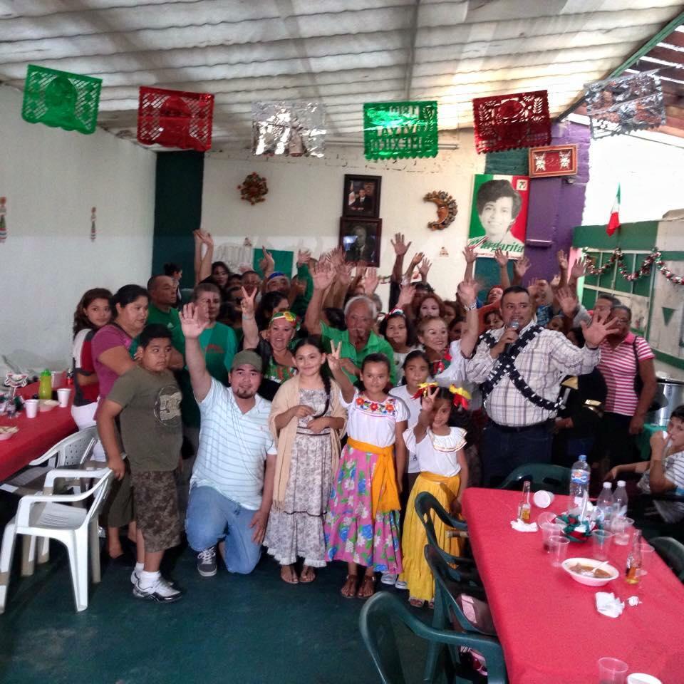 Coalición de Colonias Populares  festeja Independencia