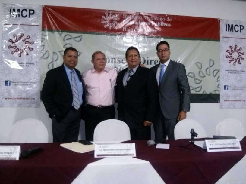 Apoyará Blásquez al  Instituto de Contadores