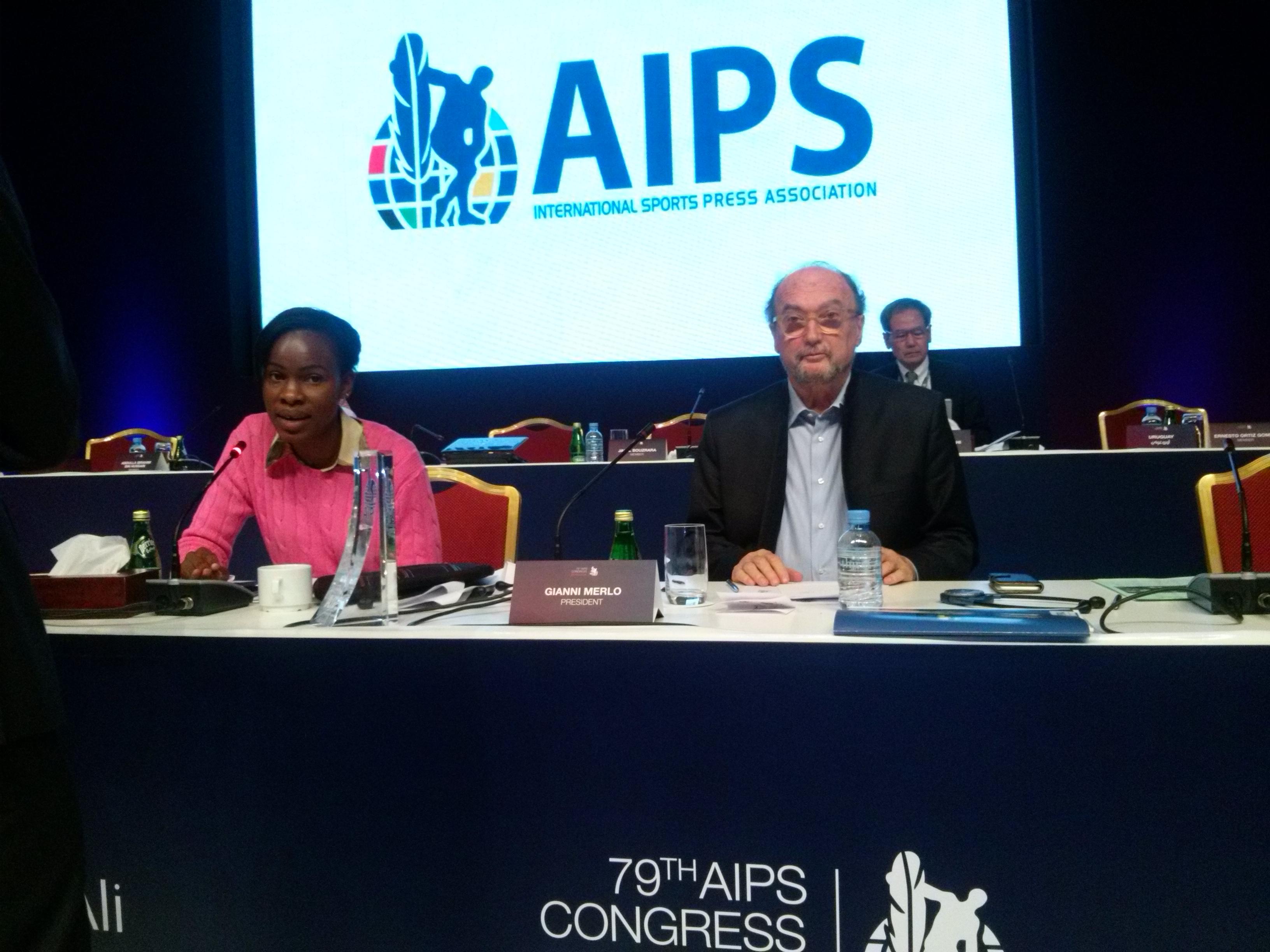 Ecos y retos de AIPS en Qatar