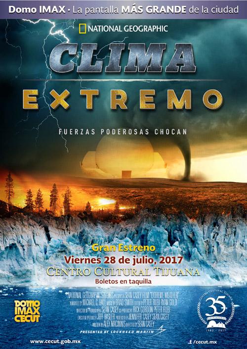"""En julio estrenan """"Clima Extremo"""" en el Cecut"""