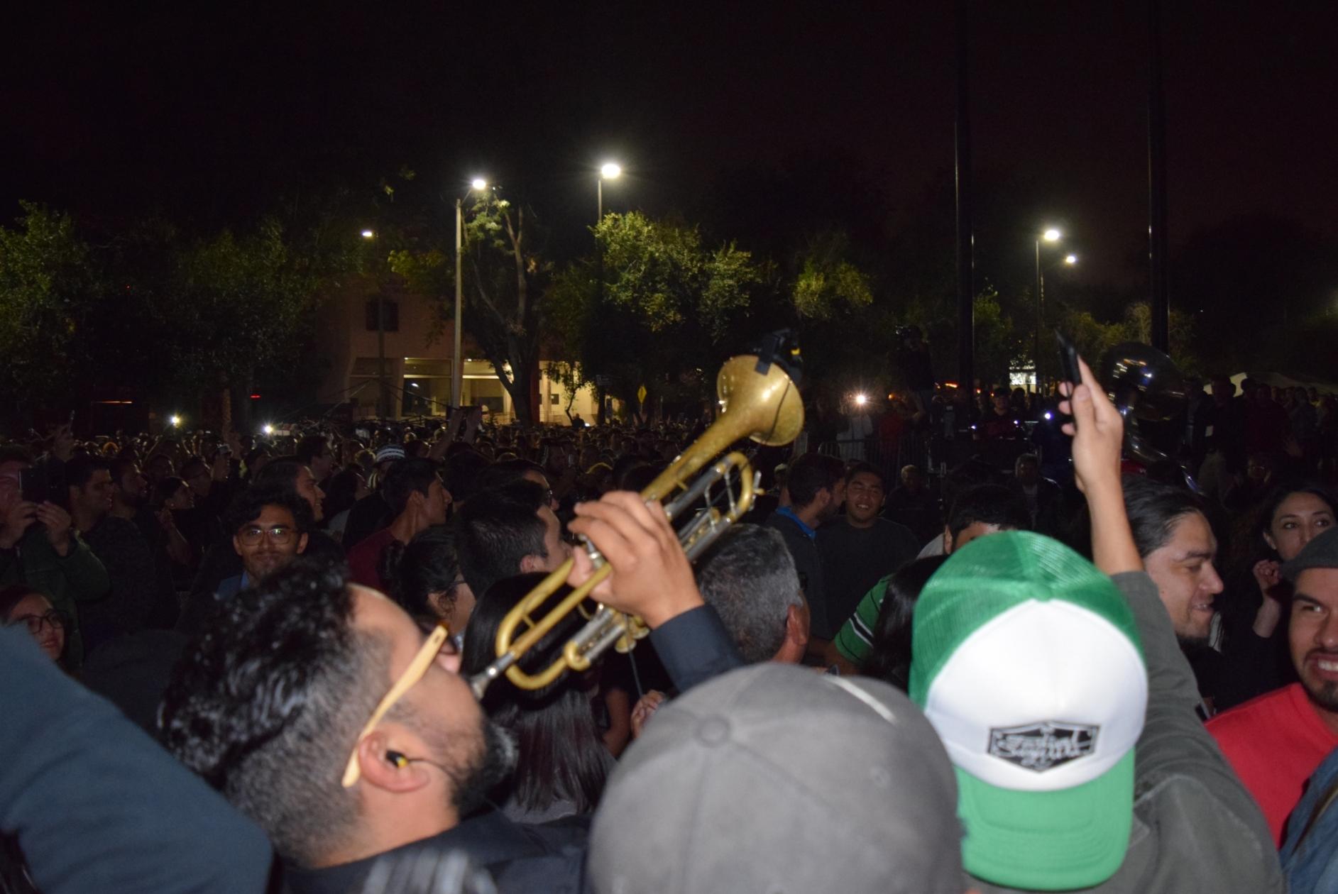 Lució Horacio Franco en Aniversario del Cecut