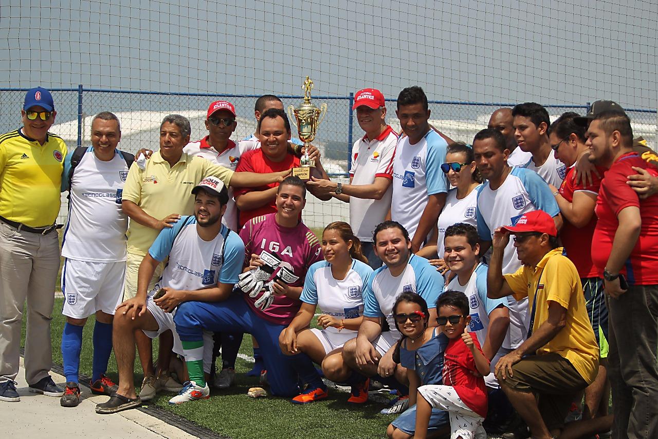Acord Atlántico se llevó el título de la II Copa Tecnoglass-Acord