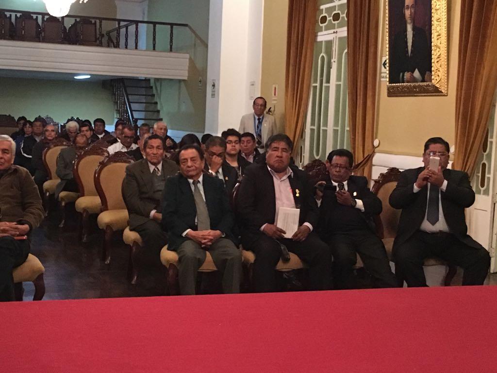 Derrochan fraternidad en Congreso de Trujillo 2017