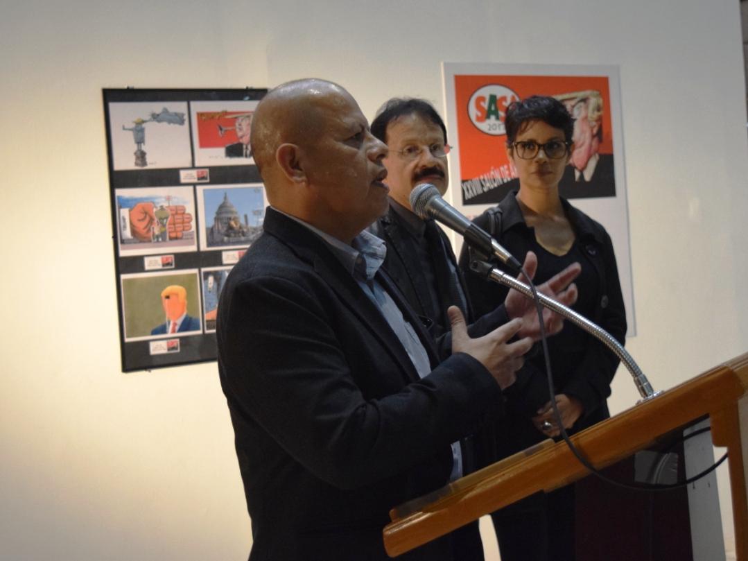 Caricaturistas muestran talento en Centro Cultural Tijuana