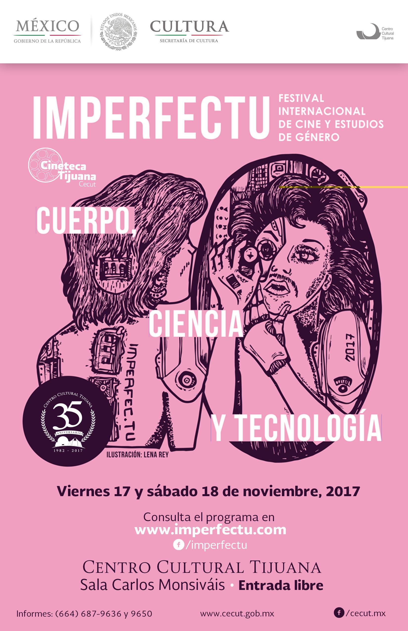 Invita Cecut a Festival Internacional de Cine y Estudios de Género