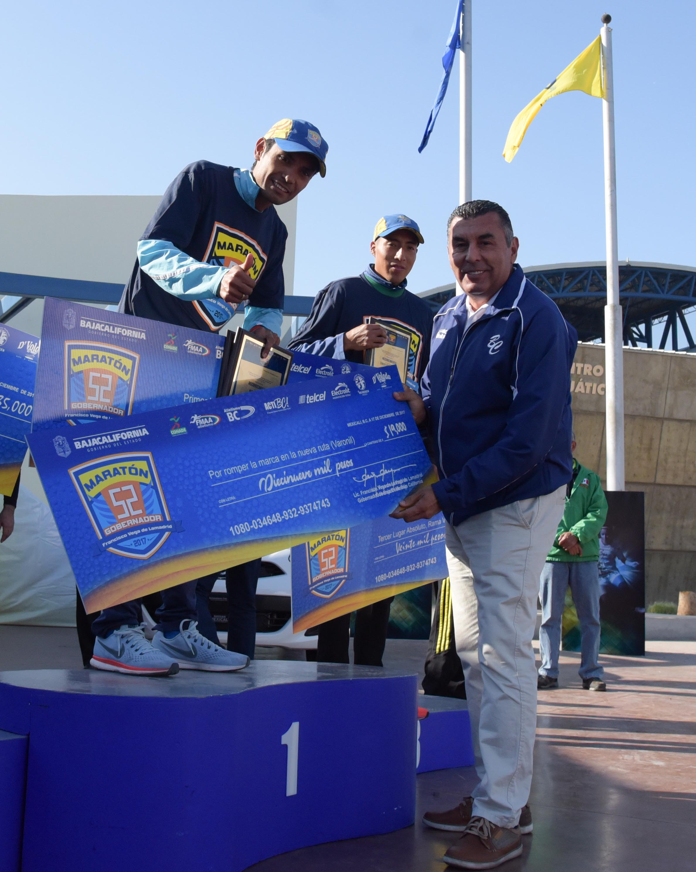 Premiación Maratón Gobernador 2017