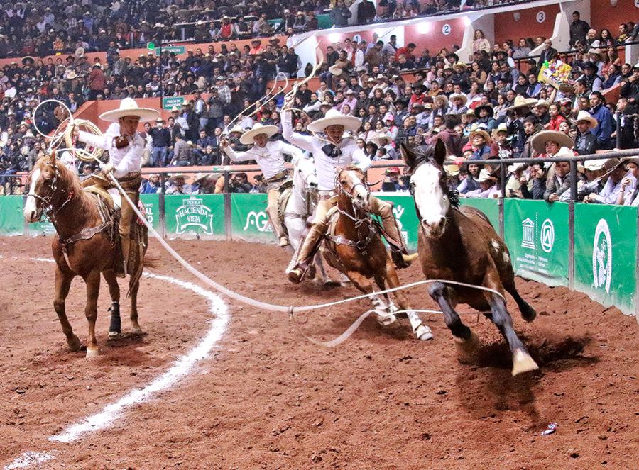 Tres Potrillos de Jalisco, campeones nacionales de charrería