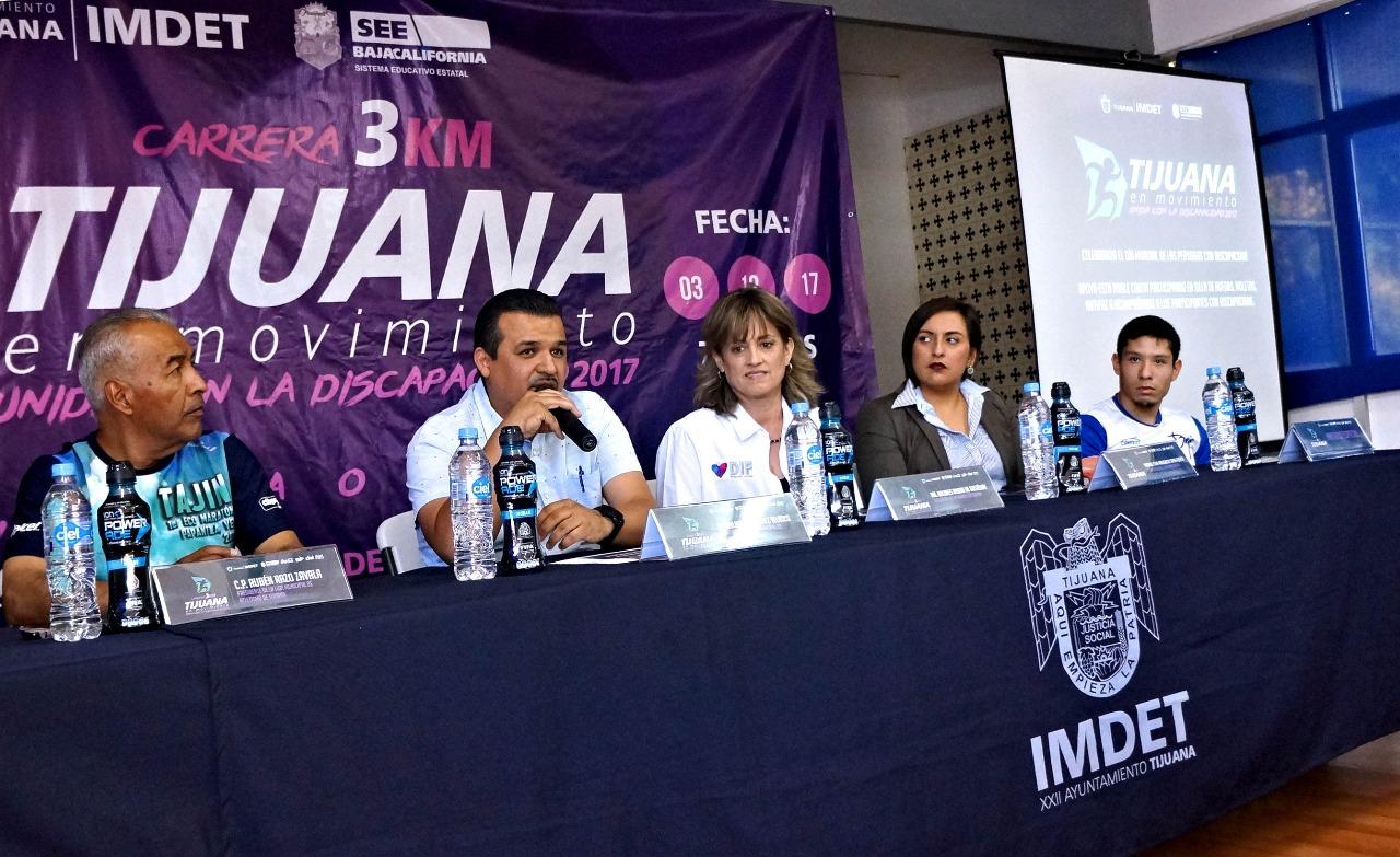Destacan  en actividades Imdet  2017 Medio Maratón y la Milla