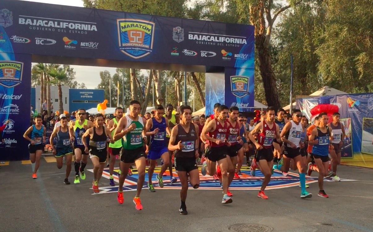 Jesús Vargas, el más veloz en Maratón Gobernador
