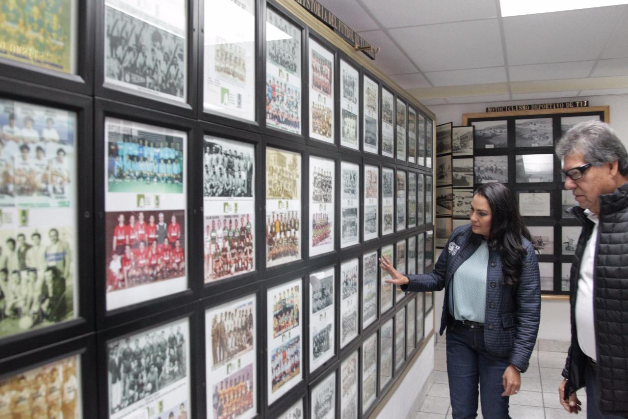 Diputada Hernández apoya al Salón de la Fama del Deporte