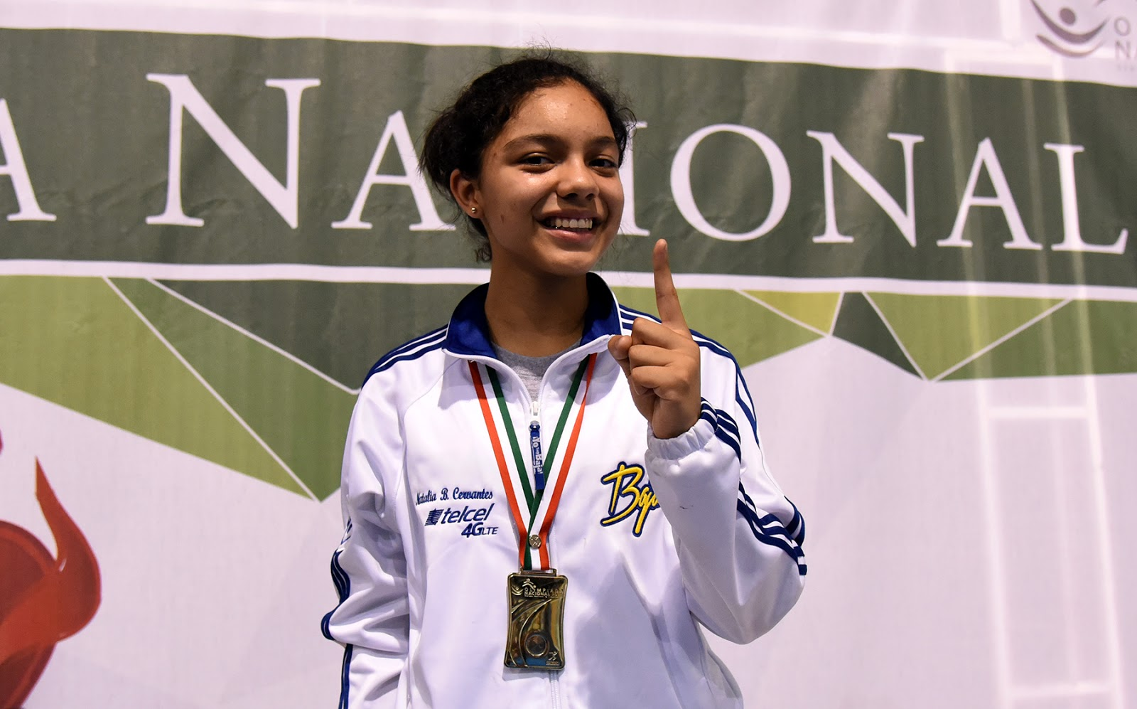 Natalia Botello, Sportgirl of the year according CCDT