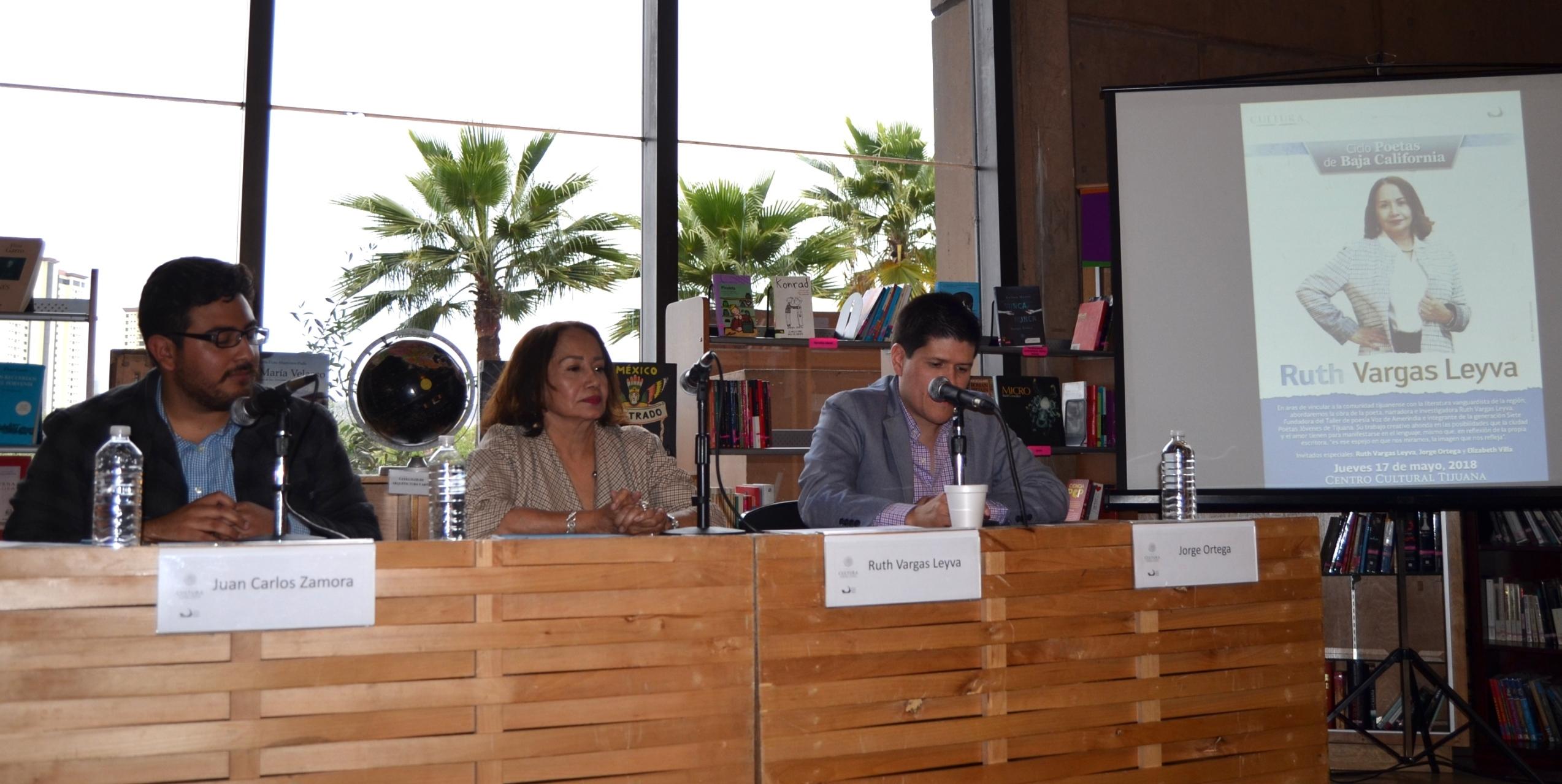 Analizan y leen la obra poética de Ruth Vargas en el Cecut