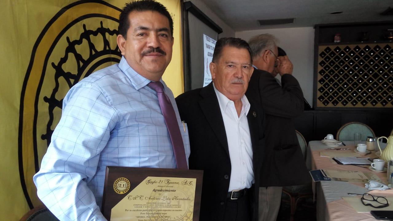 Pide Antonio León Atorga dedicar mas atención a los planes de pensión