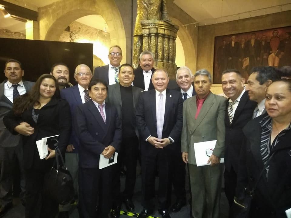 Reconocerá Senado a  4 Glorias de la Crónica Deportiva