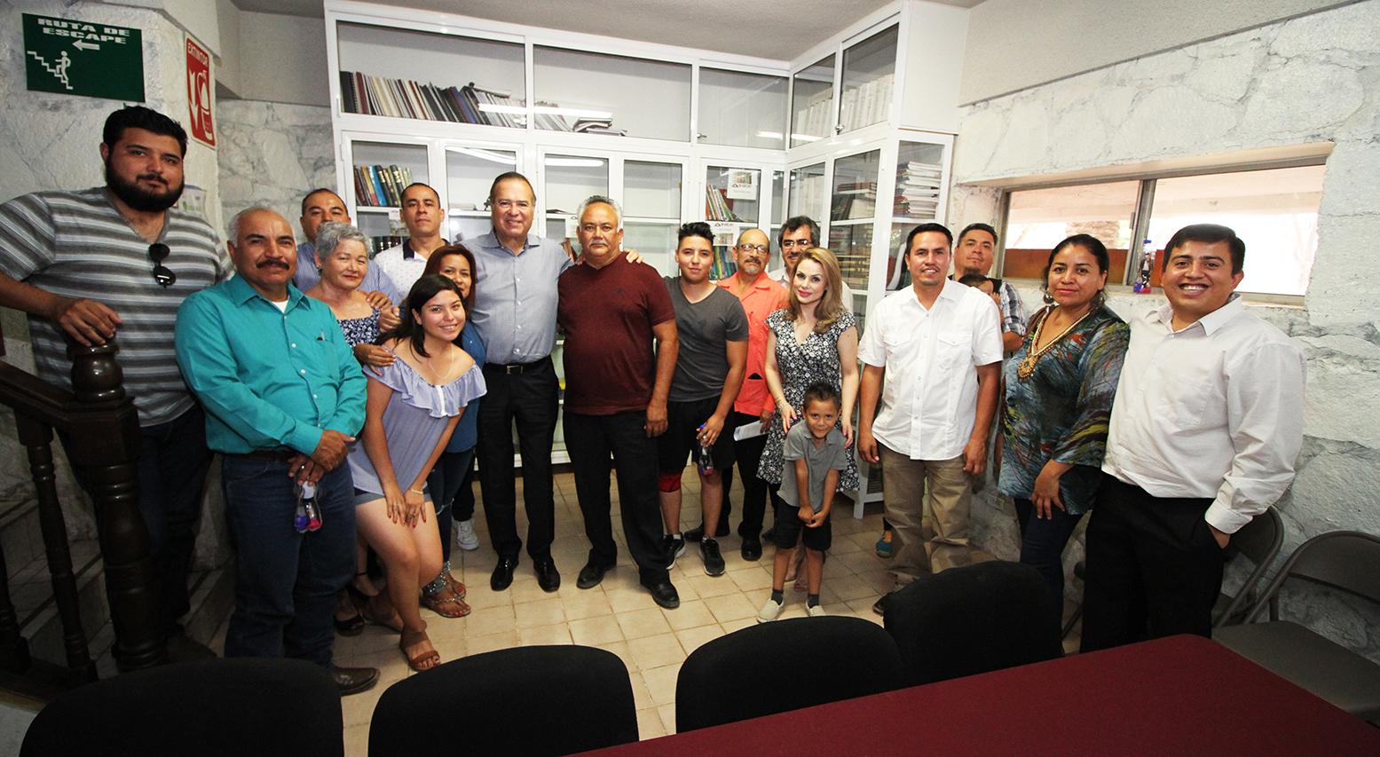 ENCABEZA ARTURO GONZÁLEZ CRUZ REUNIÓN DE MOREBC CON DIRIGENTES Y MILITANCIA DE MORENA EN TECATE