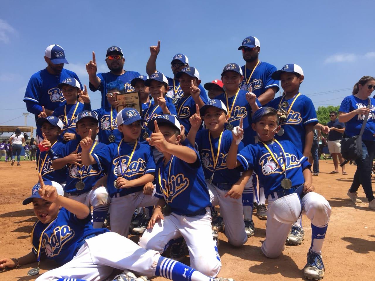 BC gana nacional de beisbol 7-8 años a Nuevo León