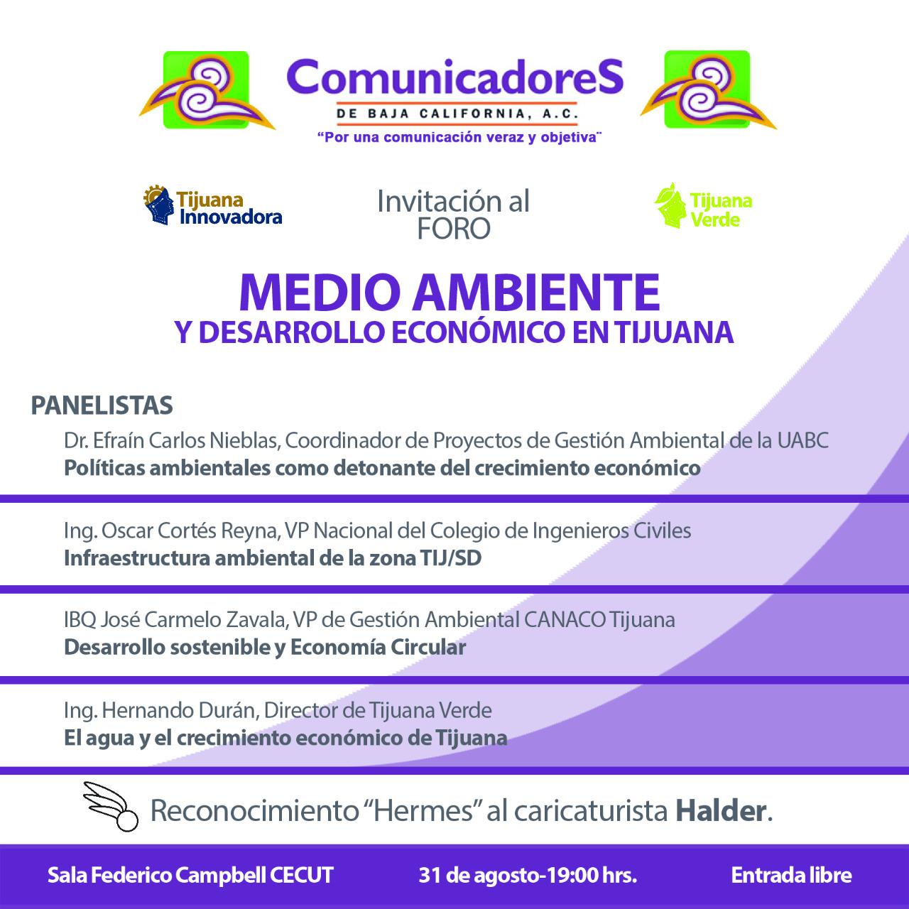 Hoy,  Foro de Comunicadores y reconocimiento especial para Halder