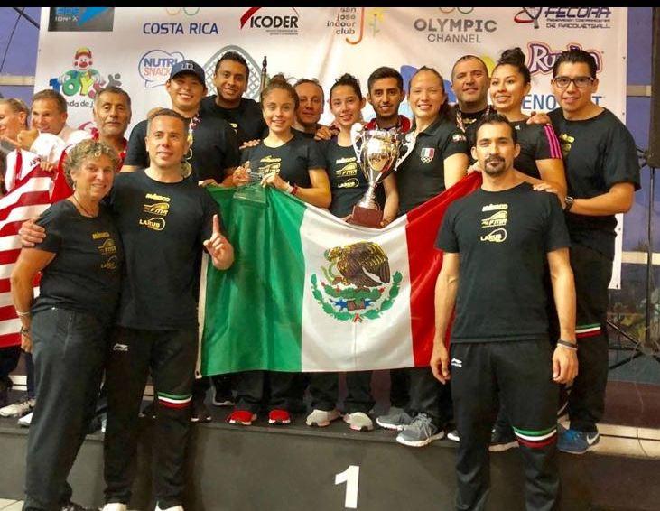 México, primera potencia mundial  en racquetball