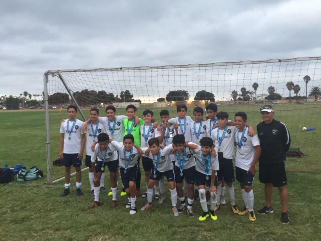Chula Vista Rebels, campeones del torneo La Jolla Labor Day  2018