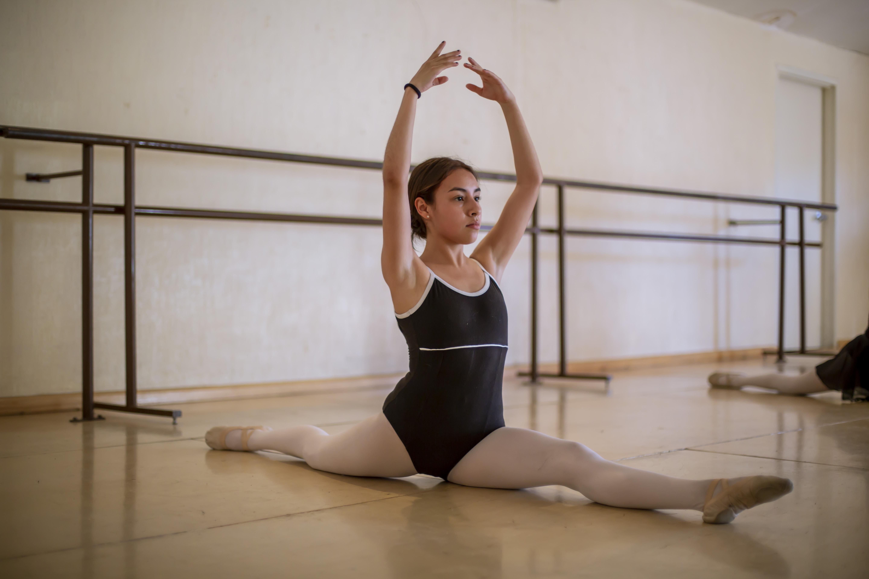 Para Carolina Santos el ballet es como volar