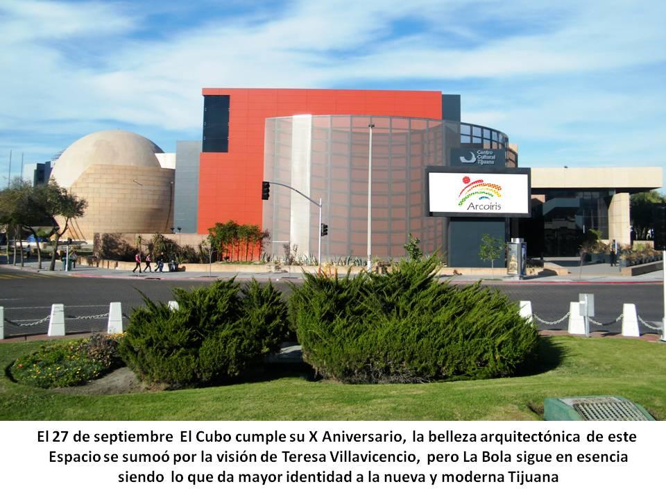 Cecut: Domo IMAX y El Cubo identidad de la nueva Tijuana