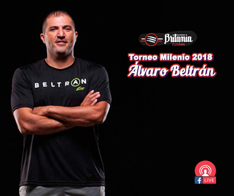 Torneo de raquetbol Milenio en honor a Álvaro Beltrán